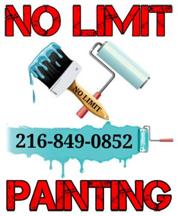 No Limit Painting Logo